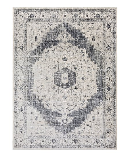 Medium Gray Aura Rug Zulily