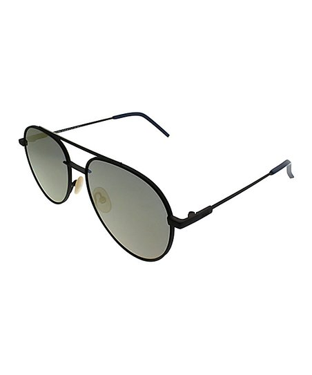 37ad6c8eca Fendi Black   Blue Gradient Modified Aviator Sunglasses