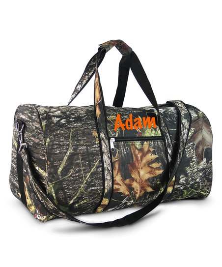 f180d37b3a94 Three Ps In A Pod Woods Camouflage Personalized Duffle Bag