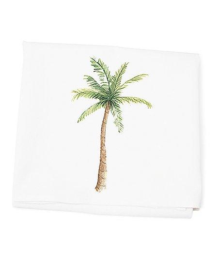 Tina Labadini Designs Palm Tree Flour Sack Dish Towel | Zulily
