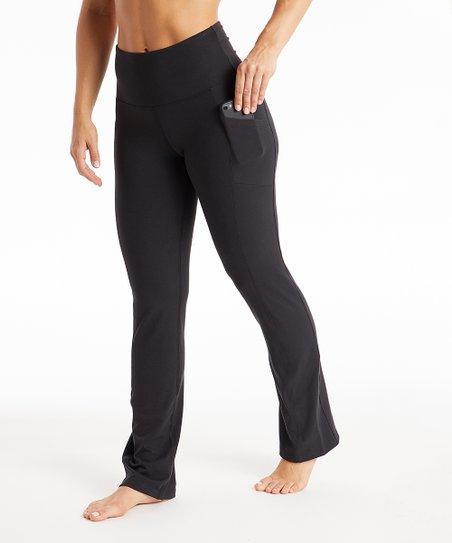 7c3cc2bc743bf love this product Black Monica Pocket 32'' High-Waist Yoga Pants - Women