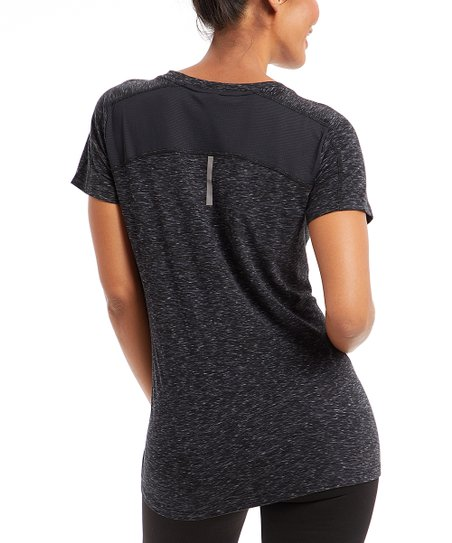 love this product Black   Iron Space Dye Relaxed-Fit Tee - Women 5a9c746ff