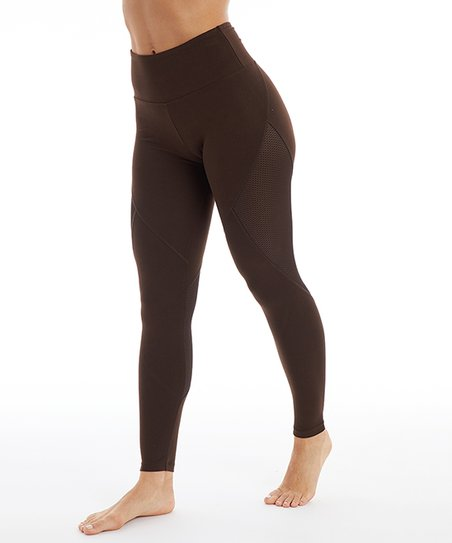 97fee098934c love this product Chocolate High-Waist Bare Leggings - Women