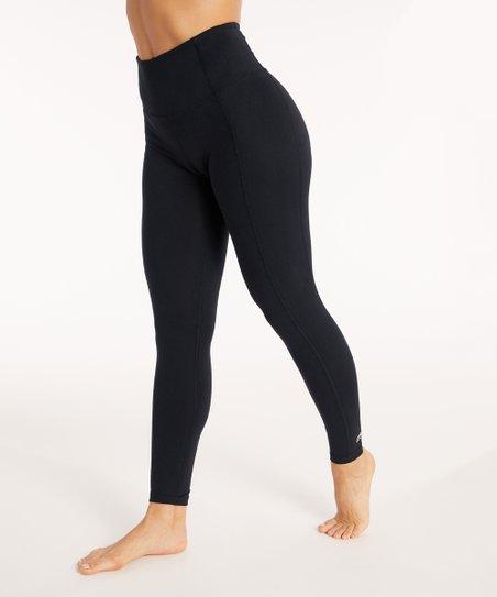 0dd453893ee23 love this product Black High-Waist Tummy Control Leggings - Women & Plus