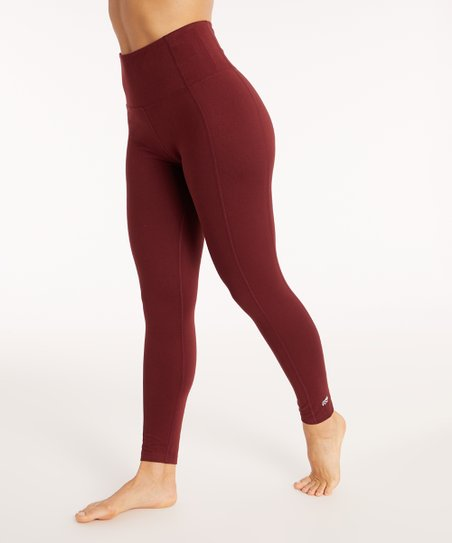 a551f0521d5f0 love this product Tawny Port High-Rise Tummy-Control Leggings - Women