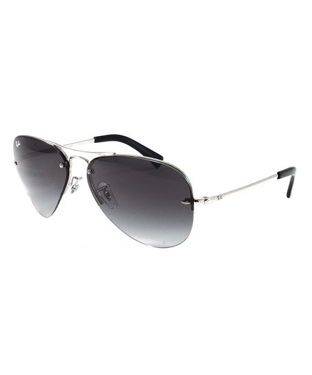 f365ded5a41e8 love this product Silver   Gray Gradient Aviator Sunglasses - Adult