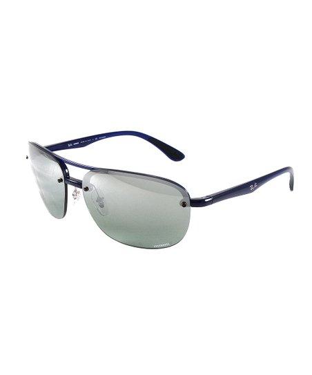 f39c0d37adf71 Ray-Ban Blue   Gray Gradient Sport Sunglasses - Unisex