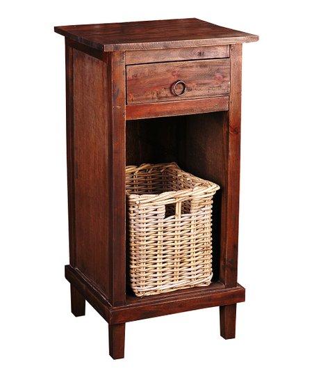 Sunset Trading Raftwood Cottage Basket End Table