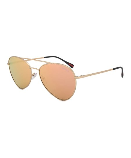 969c5f1cb673 love this product Pale Gold Aviator Sunglasses