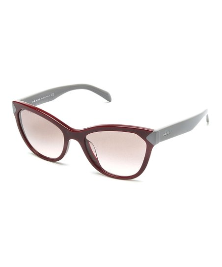 0a9f20f18ce0 love this product Red & Gray Cat-Eye Sunglasses