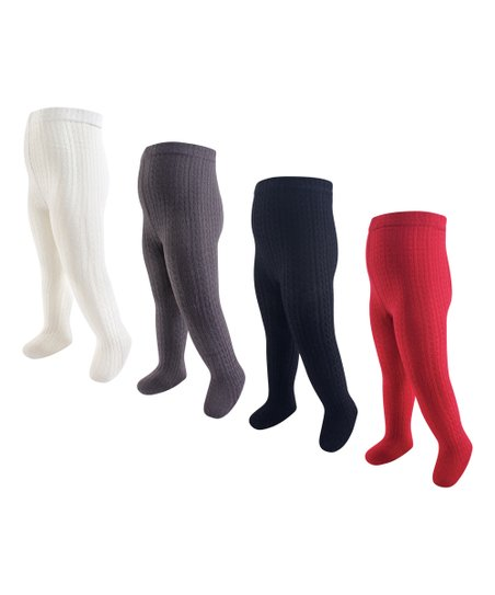 c926b79a0fc love this product Red   Navy Cable Knit Tights Set - Infant   Kids