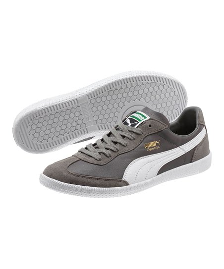 more photos a36fa 874ac love this product Steel Gray   White Super Liga OG Retro Sneaker - Men