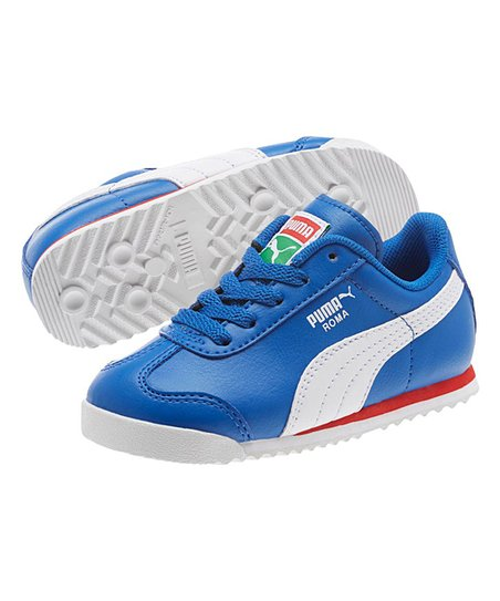 1965a8295cb54 love this product Olympian Blue Roma Basic Sneaker - Kids