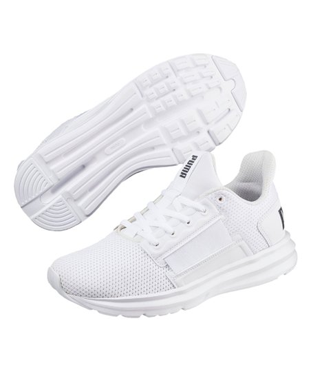 4bc67a0876 love this product White Enzo Street Sneaker - Kids