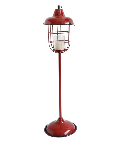 42 Red Lantern Candle Holder Zulily