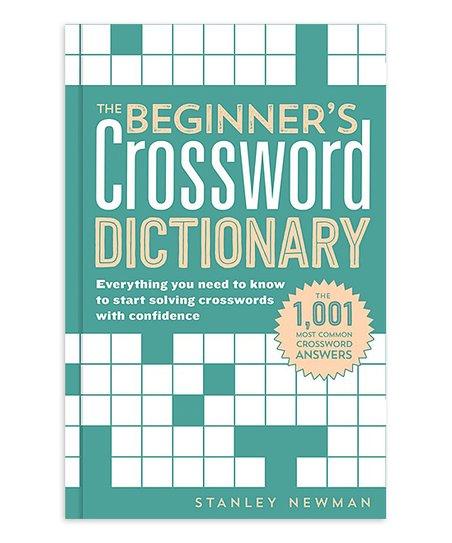 Sterling Beginner's Crossword Dictionary Paperback