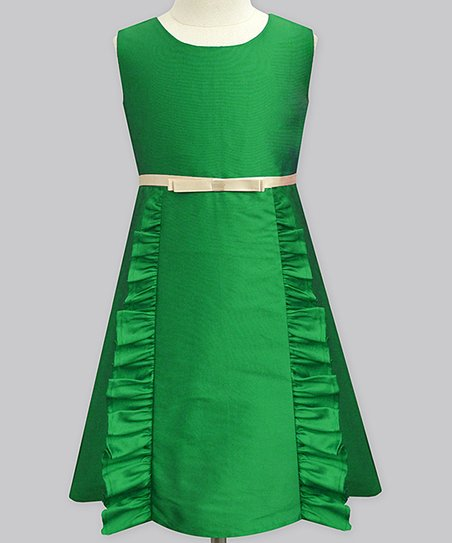 7c958a15ba30 love this product Dark Green Madison Dress - Infant, Toddler & Girls