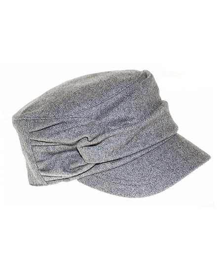 0cc664a7 Nine West Gray Wool-Blend Newsboy Cap | Zulily