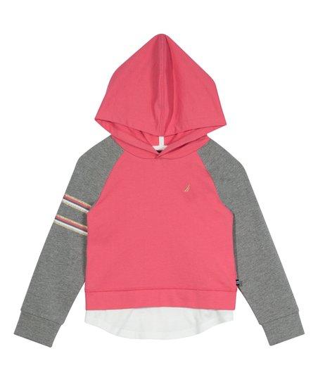 Nautica Girls Hooded Sweater