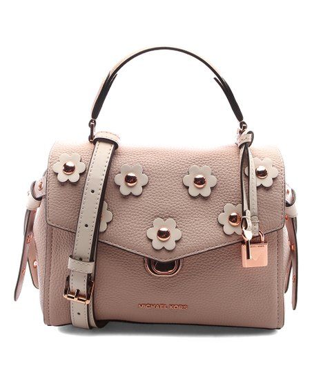 9e4a0675aae0 love this product Soft Pink & Light Cream Floral Bristol Leather Satchel