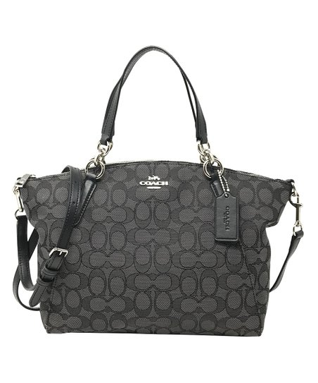 1b656262f10b Coach Black Signature Small Kelsey Satchel