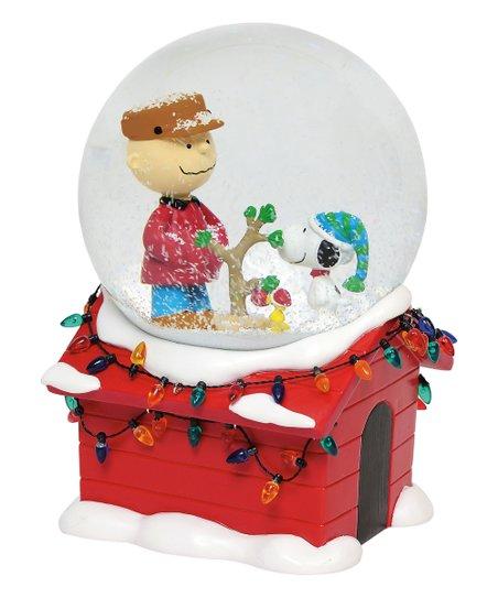 Peanuts Christmas Musical.Department 56 Peanuts Christmas Musical Snow Globe