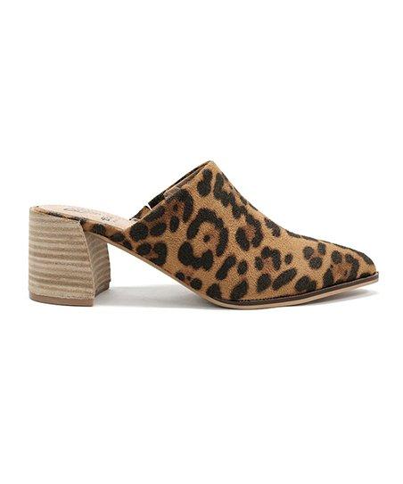 BEAST Leopard Stephanie Mule - Women