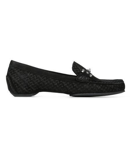 7349746c4fa Donald Pliner Black Filo Leather Loafer - Women