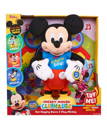 Just Play Mickey Mouse Clubhouse Dance & Play Mickey Plush
