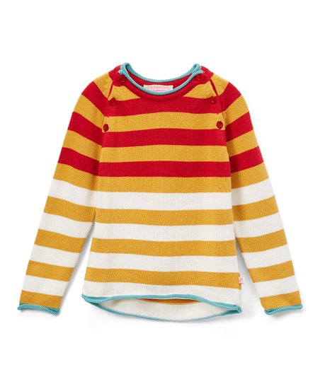 0829e4eb1 Sophie   Sam Yellow Stripe Sweater - Infant