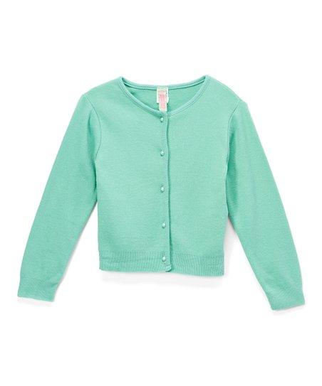 b55ce1307 Sophie   Sam Pistachio Interlock-Knit Cardigan - Toddler   Girls ...