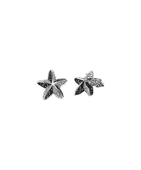 1e6521808 love this product Sterling Silver Starfish Stud Earrings with Swarovski®  Crystals