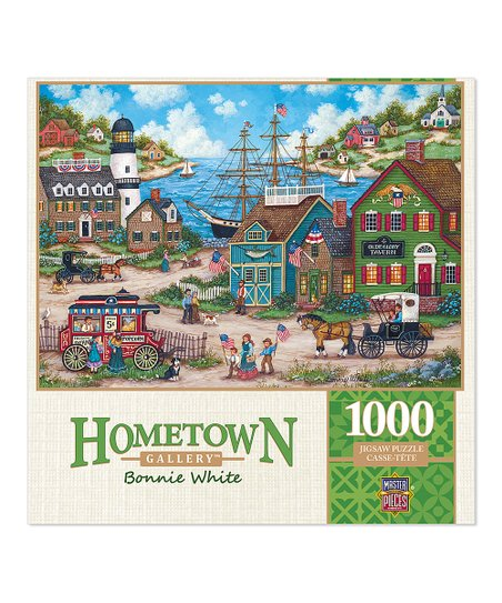 Masterpieces Hometown Gallery THE YOUNG PATRIOTS 1,000 piece jigsaw puzzle NEW