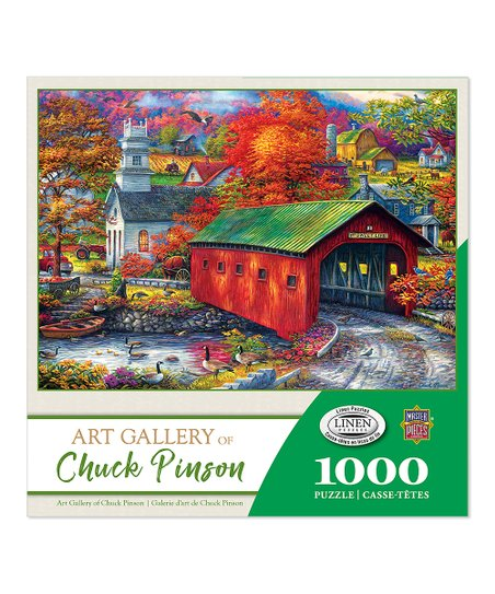 The Sweet Life 1000Piece Jigsaw Puzzle Masterpieces Chuck Pinson Art Gallery