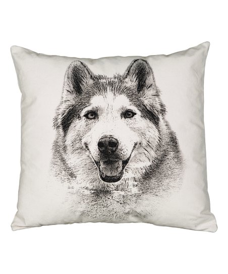 Eric Christopher Husky Throw Pillow Best Price And Reviews Zulily