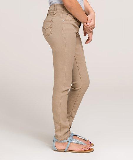 255baab48d98a YMI Jeans Tea Leaf Hyper-Stretch Skinny Jeans - Girls | Zulily