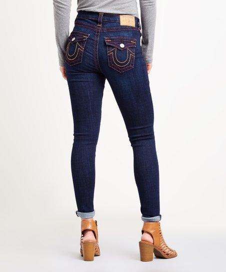 085ac5cb6 True Religion Dark Blue Skinny Jeans - Women | Zulily