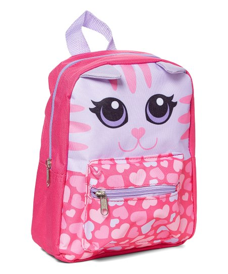 9ccaf6dece5b love this product Pink Cat Mini Backpack