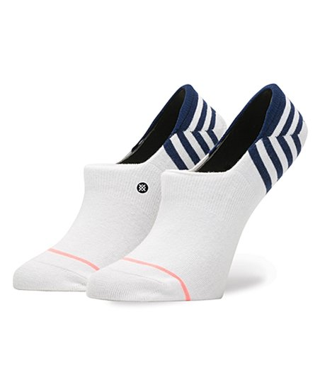 Stance Uncommon Invisible No Show Socks in White
