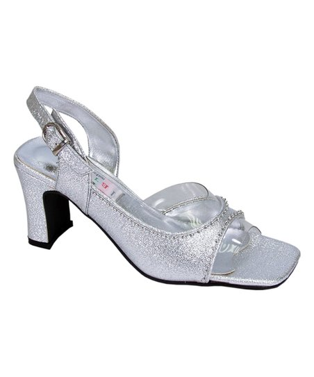86c14c9a9ef love this product Silver Metallic Slingback Sandal - Women