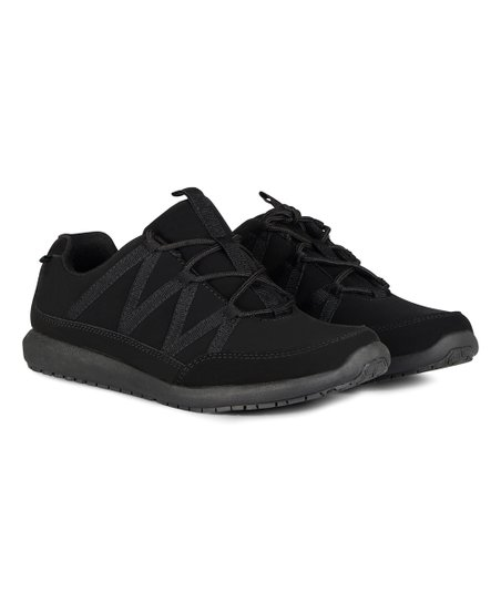 emeril lagasse black conti nubuck wide sneaker women zulily