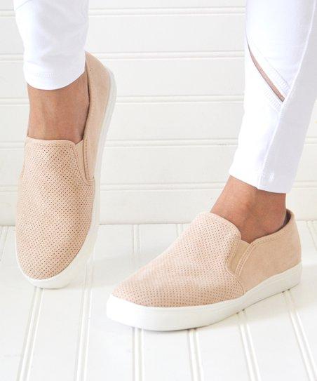 Mata Shoes Blush Perforated Layla Slip