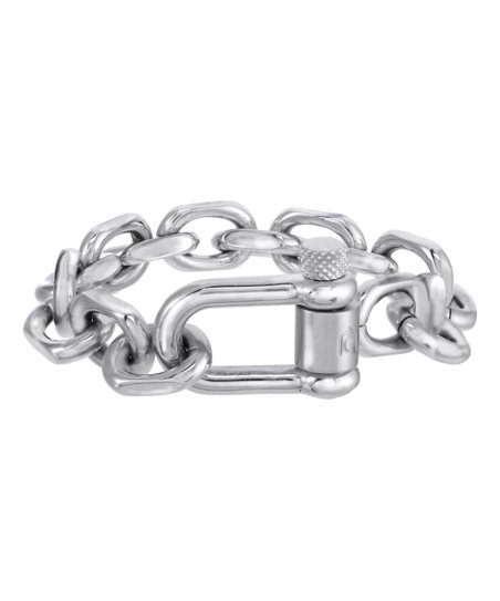 Milano Stainless Steel Ring.Giorgio Milano Stainless Steel Curb Link Bracelet Men Zulily