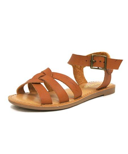03ea374ad love this product Tan Siren Sandal - Girls