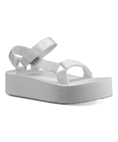 34ce55490294 Teva Bright White Flatform Universal Sandal - Women