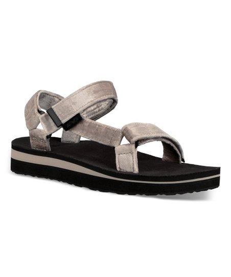 bebb6b36622 love this product Silver Midform Universal Holiday Velvet Sandal - Women