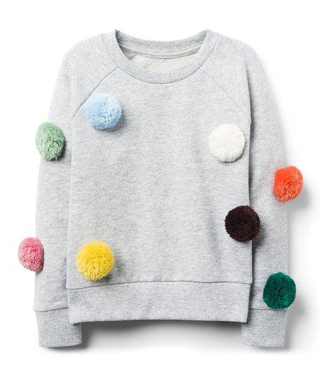 Pom Pom French Terry Sweatshirt