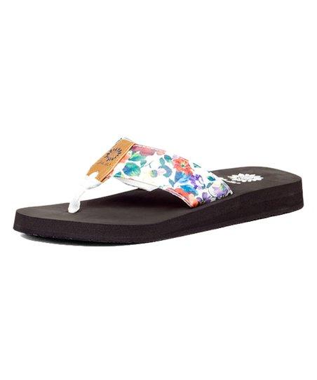 854707cc6b0506 Yellow Box Shoes White Rhodes Sandal - Women