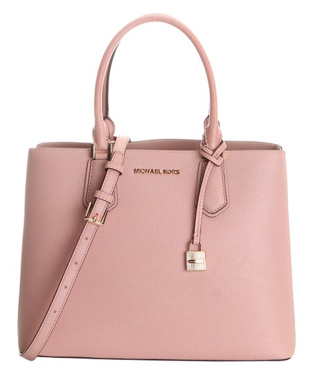 6773a9ad1410 love this product Pastel Pink   Ballet Adele Leather Convertible Tote