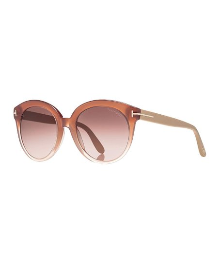 67597ebf3291d love this product Pink   Brown Gradient Monica Sunglasses